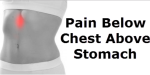 The 5 Causes of The Pain Below Chest & Above The Stomach