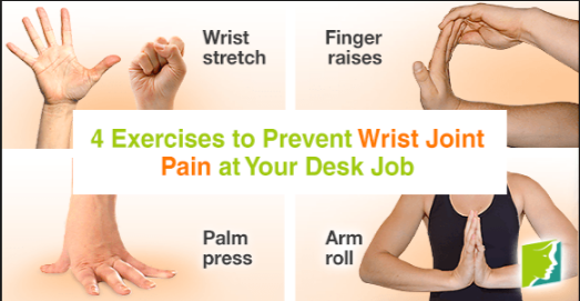 wrist pain exercises