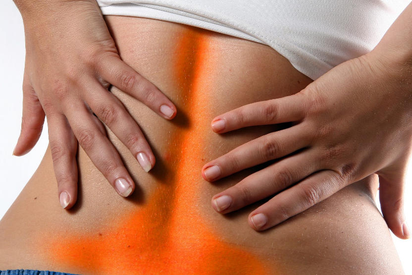 back pain symptom in other areas