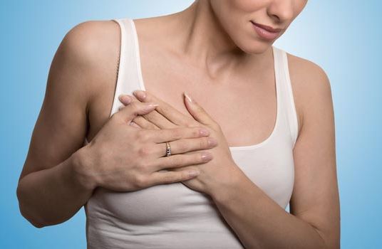 What are the reasons for breast pain
