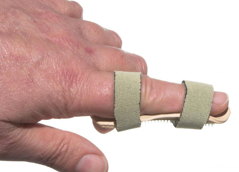 Index finger joint pain relief