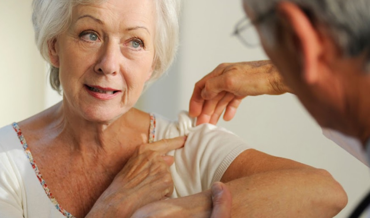 What does shoulder pain indicate