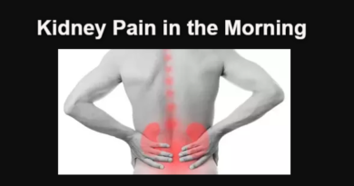 Kidney Pain in the Morning: Causes, Treatment, and Remedies